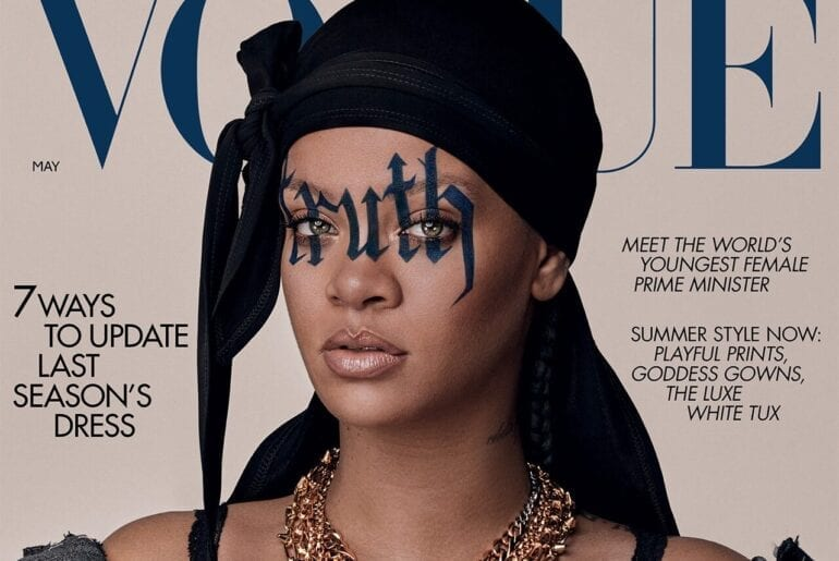 VOGUE: Rihanna Wears The First Durag On The Cover Of British Vogue
